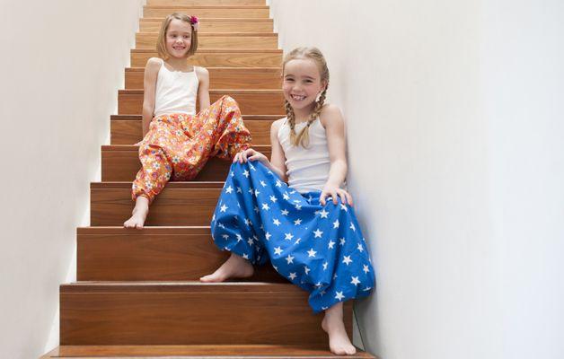 Naaien voor beginners: hippe pofbroek voor meisjes en dames