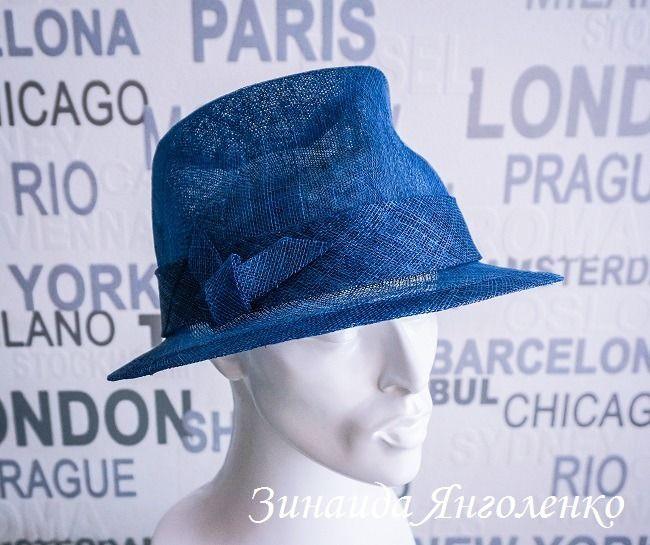 """""""Летняя шляпка из синамей"""" - Ярмарка Мастеров - ручная работа, handmade"""