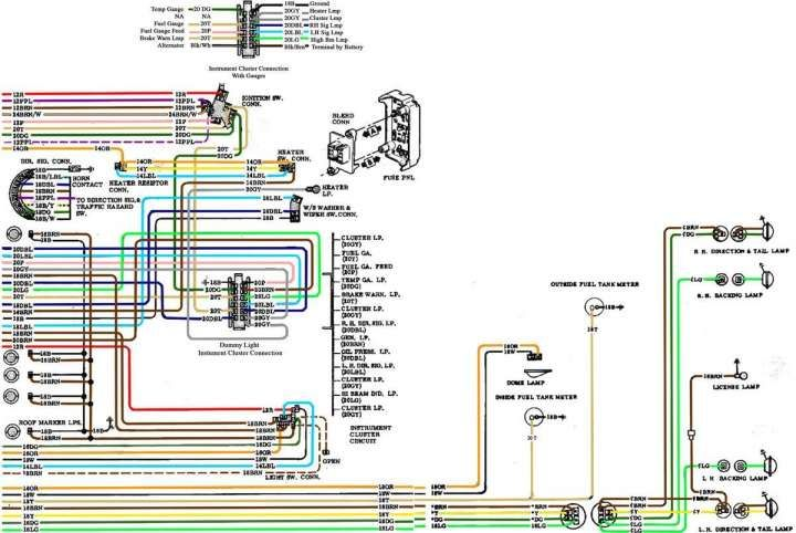 1972 chevy truck wiring harness  wiring diagrams page touch