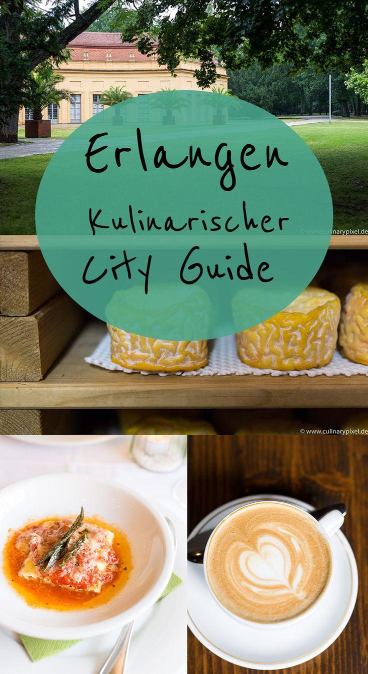 Kulinarischer City Guide Erlangen mit vielen Tipps zu Restaurants, Feinkostgeschäften und Aktivitäten. Mit Karte und vielen Bildern.