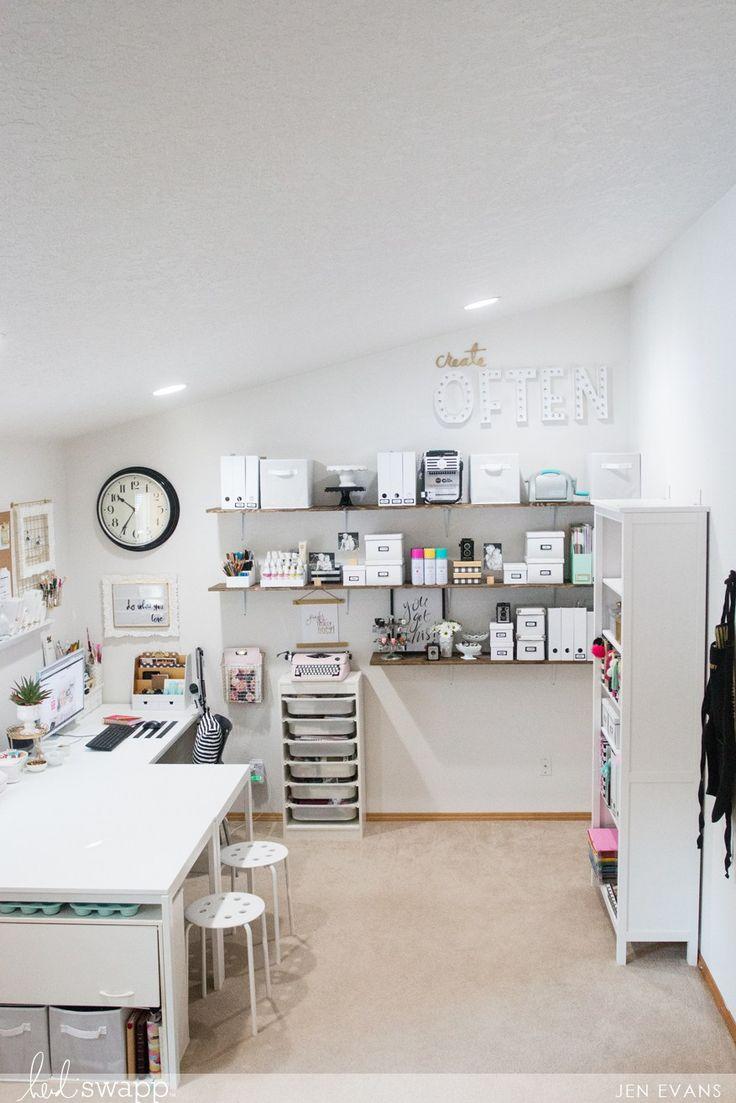 craft room office reveal bydawnnicolecom. plain bydawnnicolecom office and craft room makeover by createoften for heidiswapp inside reveal bydawnnicolecom