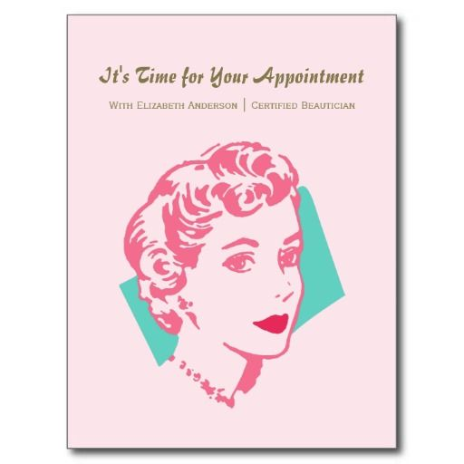 1000 Images About Appointment Reminder Cards On Pinterest