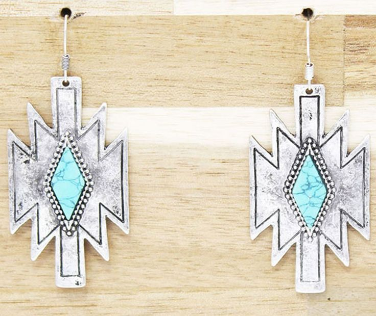 Aztec Earrings $13.99