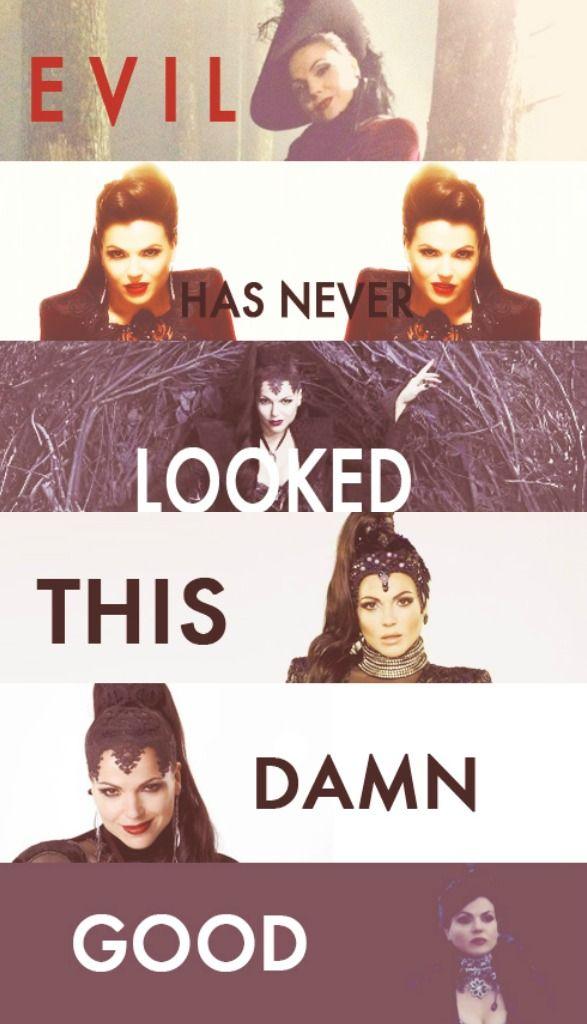 Regina/Evil Queen...Lana Parrilla is brilliant!
