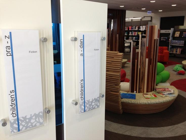 Katoomba Library - Bayend Signage