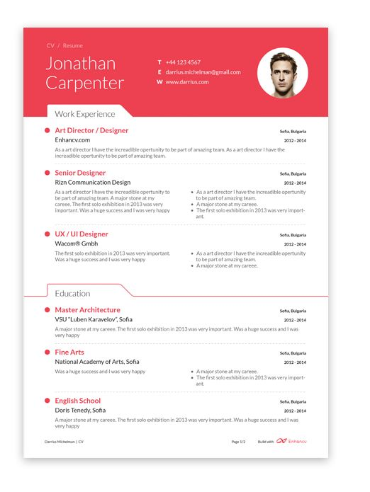 11 best  Enhance Your Resume  images on Pinterest Curriculum - automatic resume builder