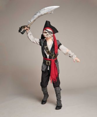 Pirate Ghost Costume for Boys