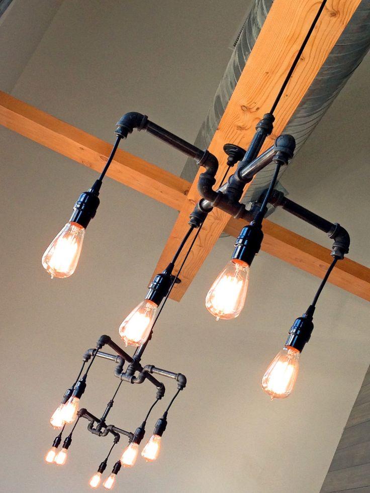 Industrial lighting at Zazu Restaurant-image via Irene Turner