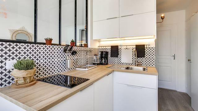 Aménagement Petite Cuisine Ouverte In 2019 Kitchen
