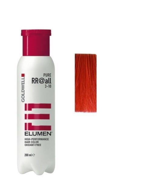 Goldwell Elumen Hair Color RR@ALL RED 6.7 oz / 200ml amonia free  #Goldwell