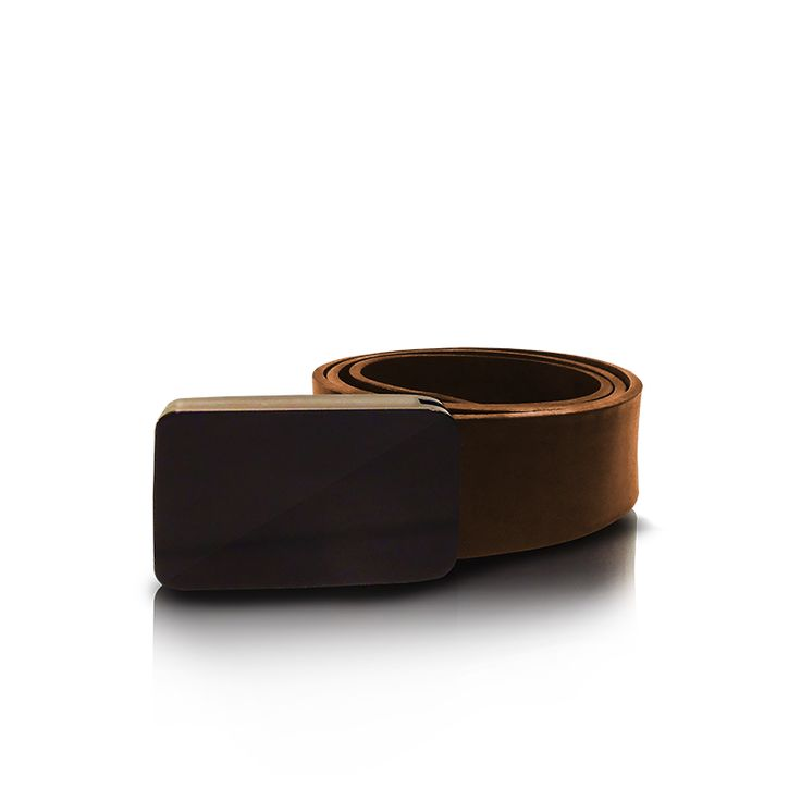 leather belt with plexiglass. http://larou.gr/product/zerotwo11/