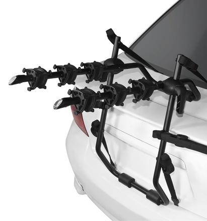 Rack para auto, para tres bicicletas