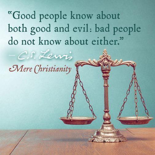 the cs of good and bad The scales of good and evil is a i do beleive there were some really bad people in time and some really good people intime as well but i didn't hear.