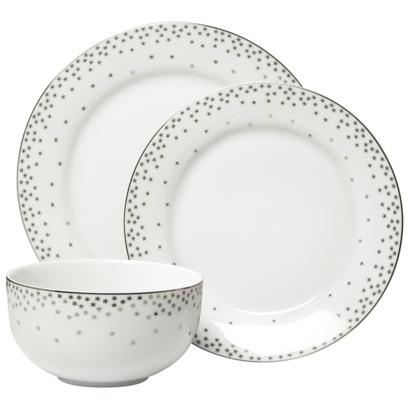 Threshold Snowflake Trim Dinnerware - Set of 12  sc 1 st  Pinterest & 65 best 2012 Christmas images on Pinterest | Christmas dinnerware ...