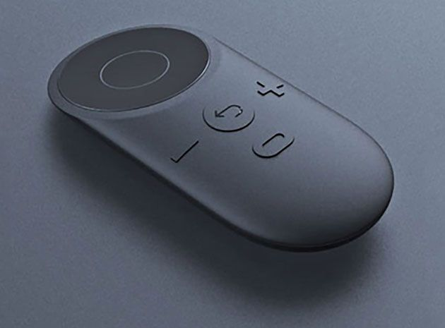 Oculus accidentally reveals an early VR controller concept