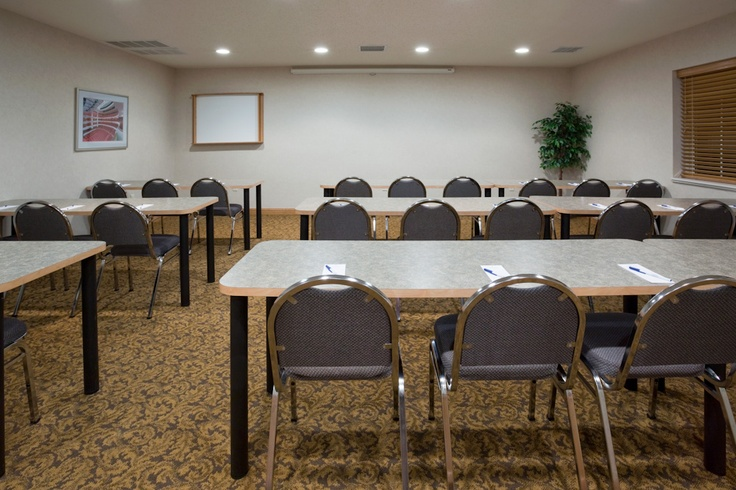 PAC Meeting Room.  Rental - $85 per day (if you book rooms - it's even less!)  Bring in your own food & beverage too!!
