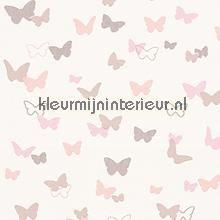 Esprit vlinders pastel roze behang 302891 meisjes AS Creation