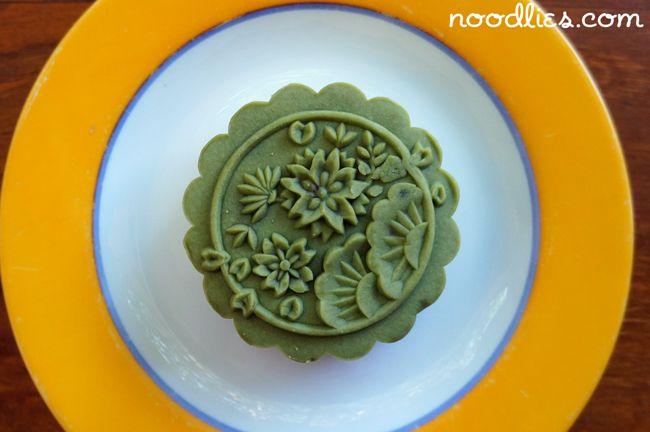 casahana green tea mooncake