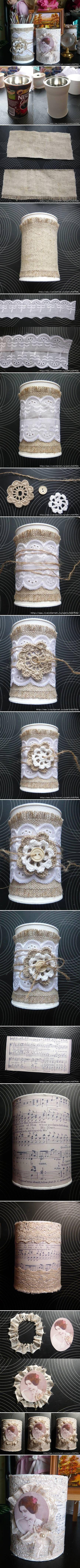 DIY Nice Decorated Jars LIKE Us on Facebook ==> https://www.facebook.com/UsefulDiy