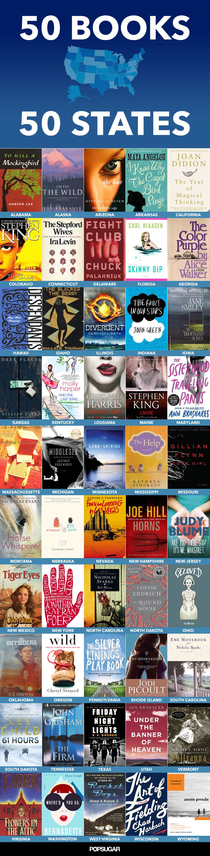 Here's a reading list that will keep you busy all Summer — and then some!
