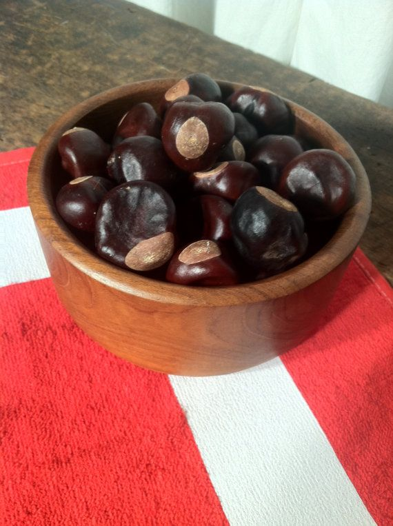 Great for crafting! Football Season is just around the corner! OH -IO!  Buckeye Nuts  50 Count by ZassysTreasures on Etsy, $8.00