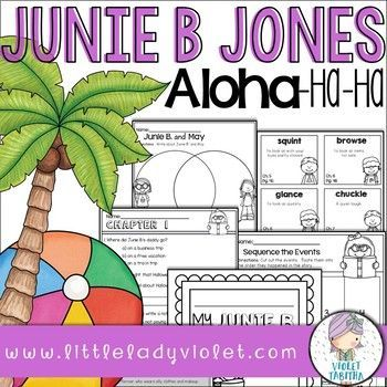 junie b jones aloha ha ha book report Junie b jones is in mr scary's first grade class one day lucille announces that she will be having a birthday party and that everyone is invited.