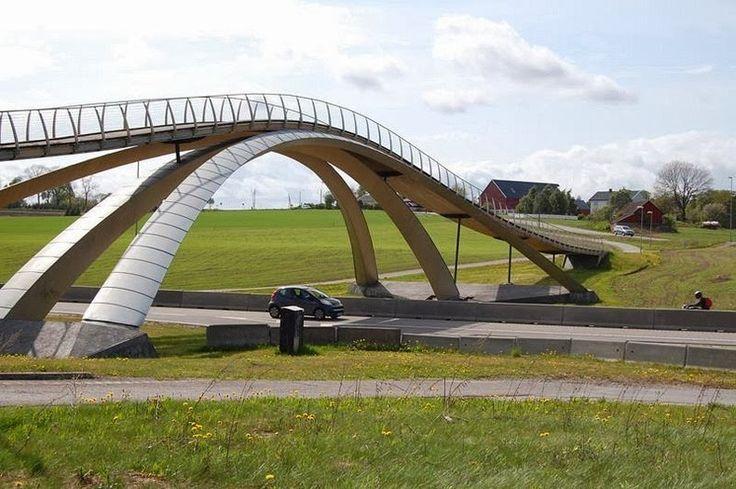 Leonardo Da Vinci's Golden Horn Bridge | Amusing Planet