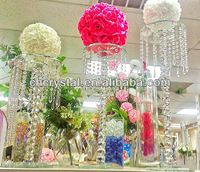 wholesale crystal flower stand center tables , decorative wedding crystal waterfall centerpieces MH-1554 http://m.alibaba.com/product/1613960891/wholesale-crystal-flower-stand-center-tables.html