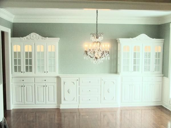1000 images about dining room on pinterest cabinets built ins and modular walls - Dining room built ins ...