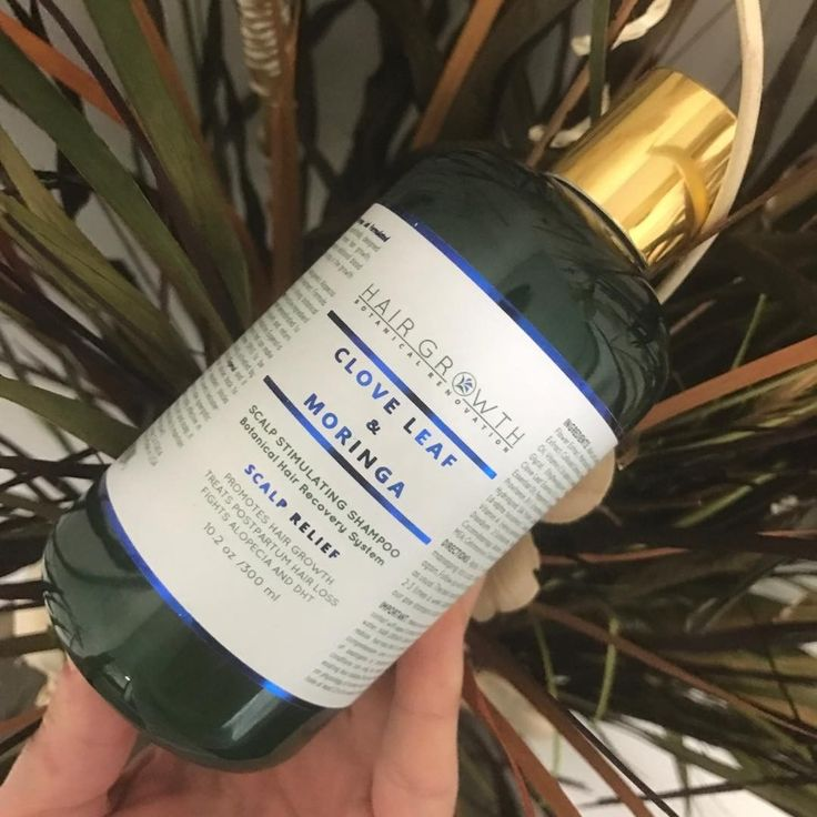 Powers of Nature for stronger hair and hair loss prevention. Clove Leave & Moringa Botanical Shampoo  SCALP RELIEF FORMULA  TREATS POSTPARTUM HAIR LOSS  NATURAL DHT BLOCKER  ALOPECIA PREVENTION  ❤️Check out our anti-hair loss shampoos at website ➡ www.hairbodymind.com or ➡ Amazon.com