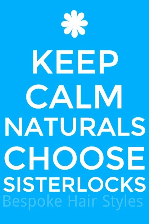 Sisterlocks is a healthy haircare system for us with  African Hair.