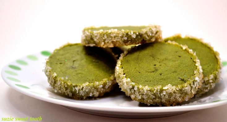 Matcha Almond Cookies Recipes — Dishmaps