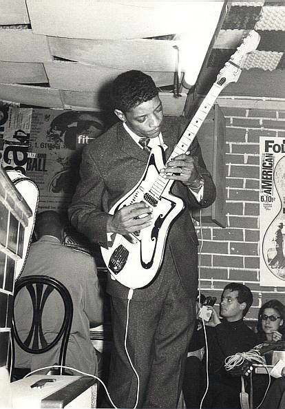 "Hubert Charles Sumlin was a Chicago blues guitarist and singer, best known for his ""wrenched, shattering bursts of notes, sudden cliff-hanger silences and daring rhythmic suspensions"" as a member of Howlin' Wolf's band."