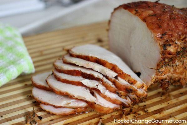 Oven Roasted Turkey Breast -350 for 90 min. - 1 boneless turkey breast 2-3 pounds  1-2 tablespoons olive oil  1/2 teaspoon garlic powder  1 teaspoon minced dry onion  1 teaspoon seasoned salt  1 teaspoon smoked paprika  1/2 teaspoon pepper  1/2 teaspoon parsley flakes  1/2 teaspoon basil