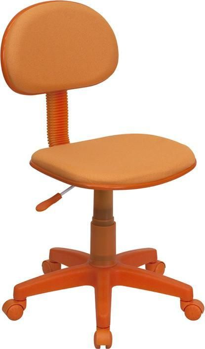 Flash Furniture BT-698-ORANGE-GG Orange Fabric Ergonomic Task Chair