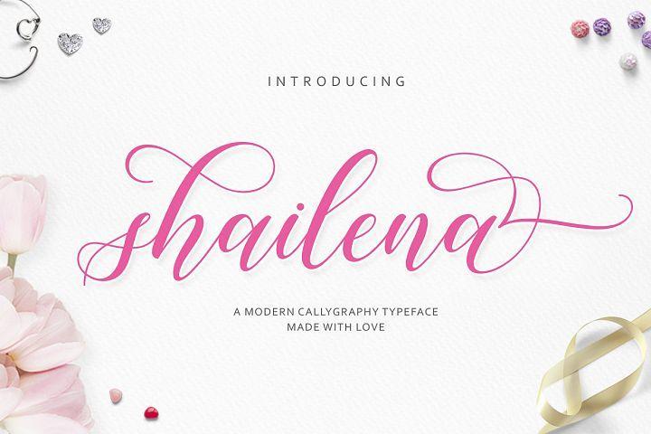 Shailena Script from FontBundles.net