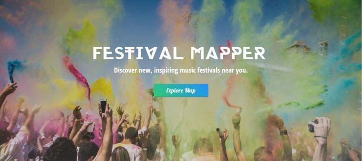 Festival Mapper: Finde und entdecke Festivals weltweit! #Reisen #Urlaub #Travel #Lifestyle #Musik #Festival #Sommer