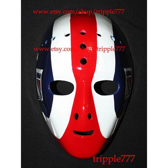 Hockey mask, Hockey goalie, NHL ice hockey, Roller Hockey, Hockey goalie mask, Hockey helmet John Davidson mask HO96