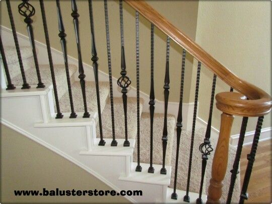 Pattern Spindles   Not All The Same High Quality Powder Coated Iron Stair  Parts For Stylish Iron Stair Spindles