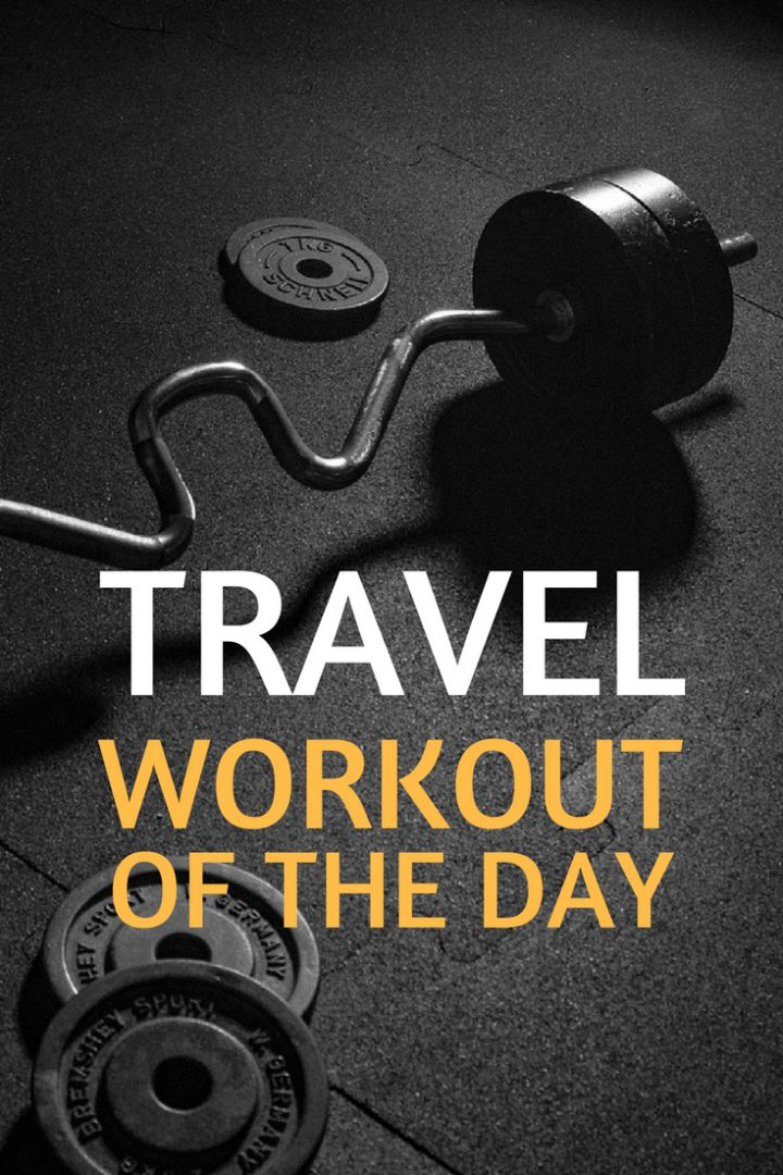 Want to stay fit while travelling the world? Ten travel WODs to help you build a travel workout routine and keep your six pack abs...