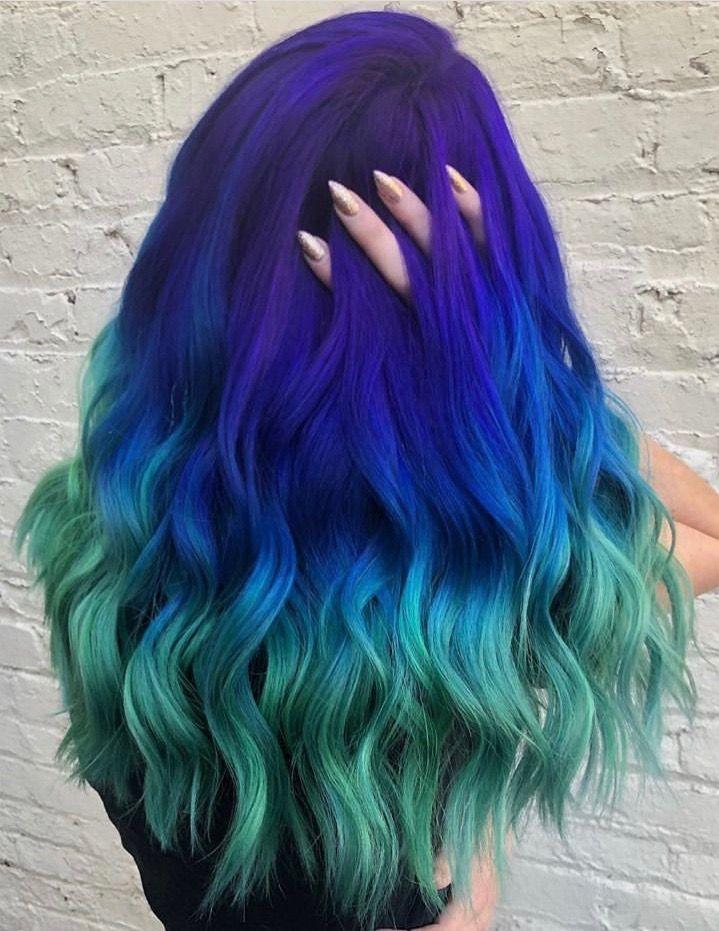 Hair Image By Luna Sea Green Hair Colors Bold Hair Color