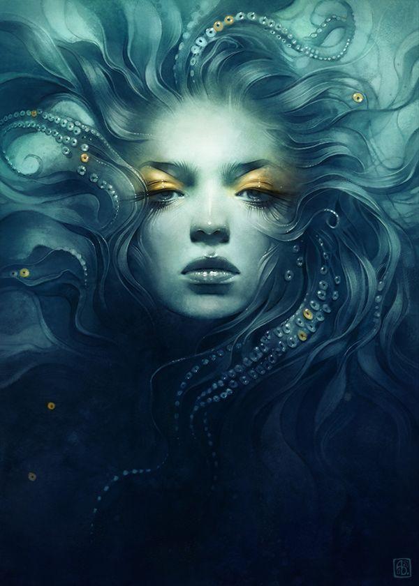 Underwater Medusa