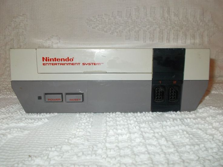 Nintendo NES Console For Parts Or Repair Only  #Nintendo