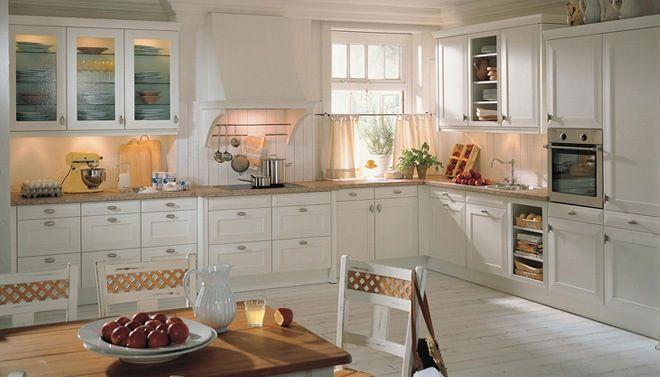 landelijke schouw in de keuken let op de details van de
