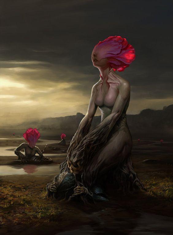 ihre Köpfe wie Blumen, so schön und verlockend sie zu berühren. Ihr lieblicher Duft umhüllt die Sinne, vernebelt sie bis zum Ende des Augenblicks. - Yui