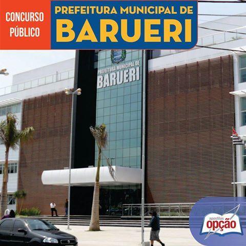 Apostila Concurso Prefeitura do Município de Barueri / SP - 2016: - Cargo: Agente de Trânsito Masculino e Feminino