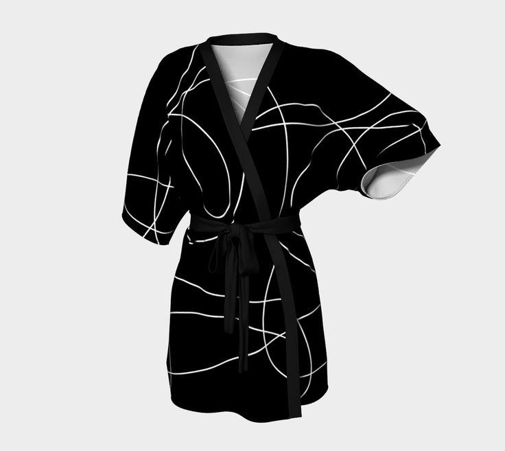 "Kimono+Robe+""Loops+Kimono+Robe""+by+Steel+Graphics"