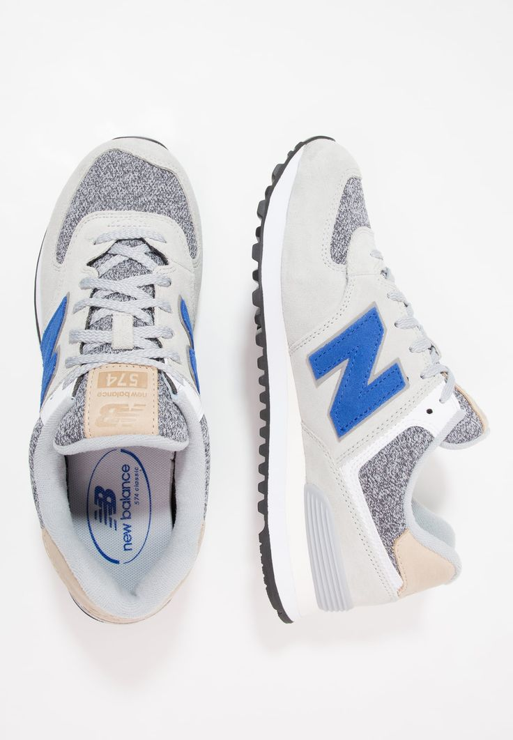 New Balance ML574 - Matalavartiset tennarit - grey - Zalando.fi