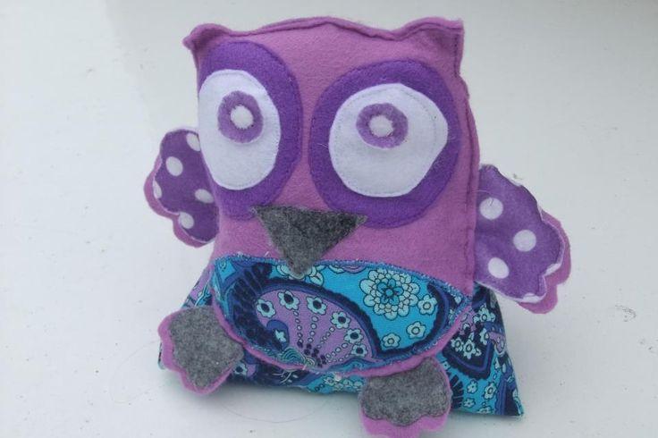 Owl Door Stop... Community Craft Group, Christchurch, New Zealand.