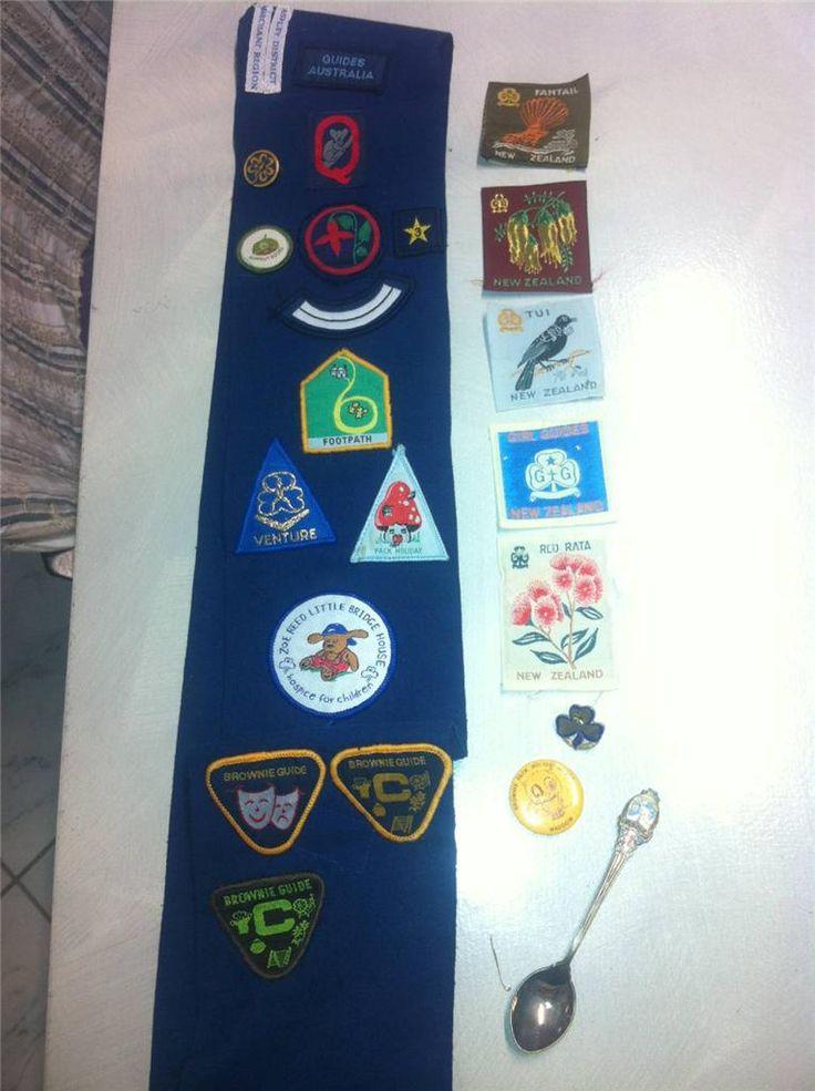 Living by the Guide Law: Australian Girl Guide badges